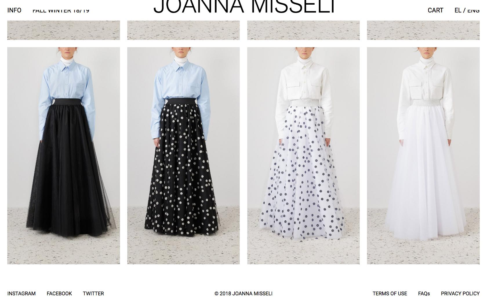 • Joanna Misseli – Creative direction + Visual identity + Website 4