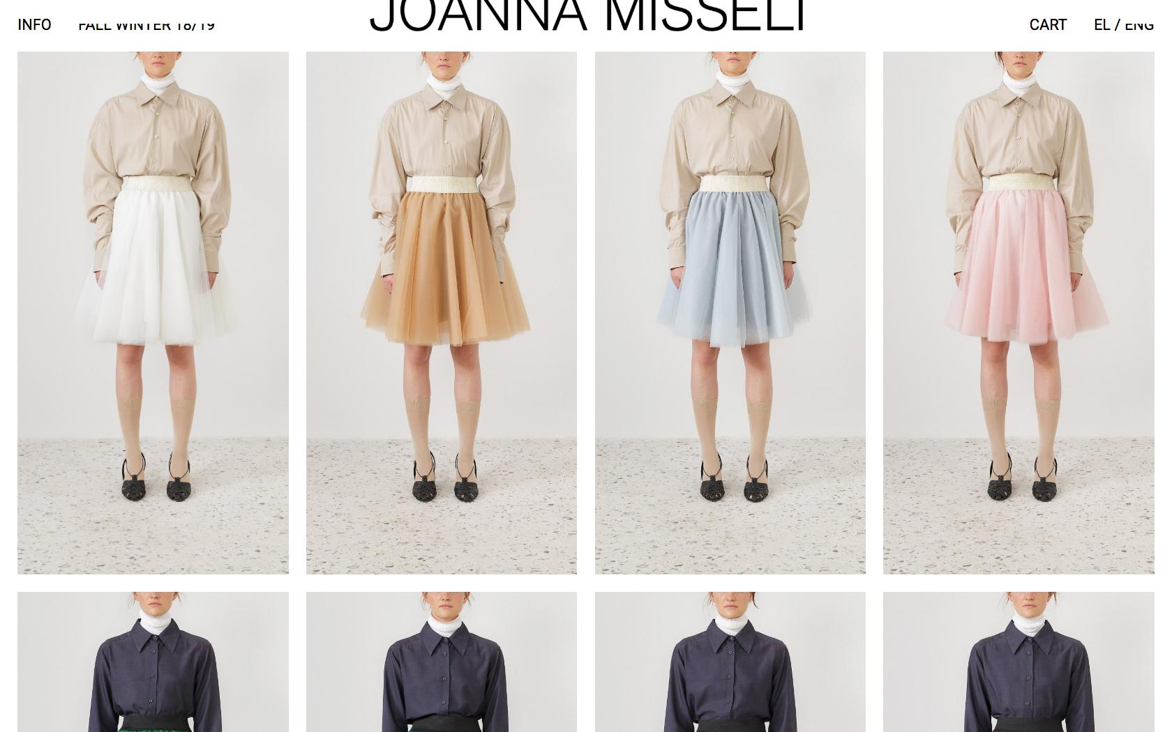 • Joanna Misseli – Creative direction + Visual identity + Website 2
