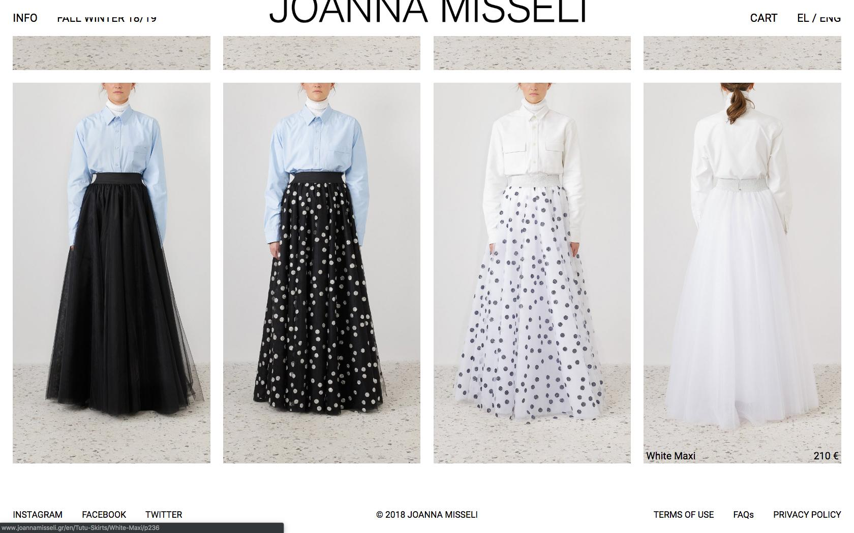 • Joanna Misseli – Creative direction + Visual identity + Website 5