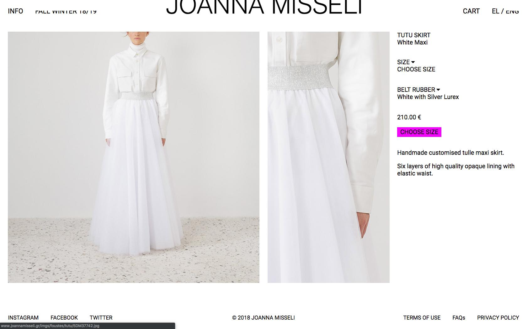 • Joanna Misseli – Creative direction + Visual identity + Website 6