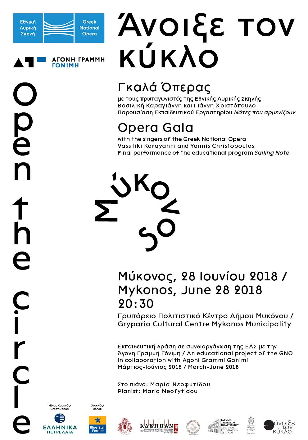• Open the circle – Poster 0