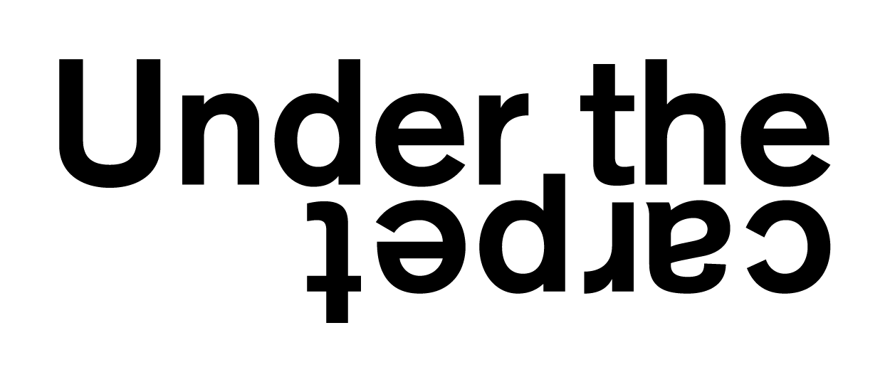 • Under the carpet – Visual identity + Website 0