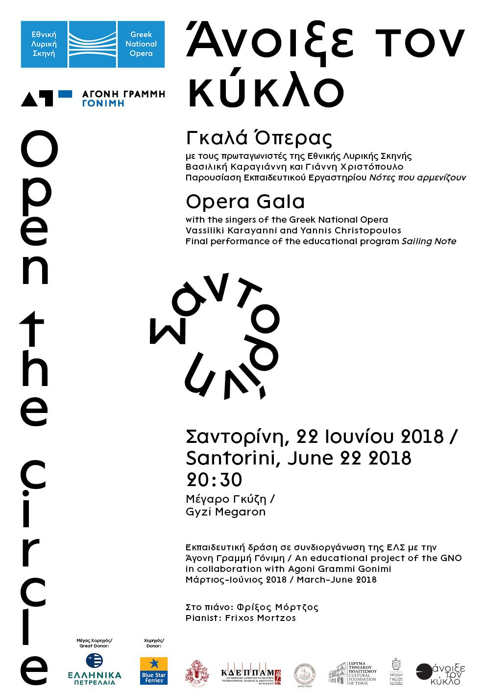• Open the circle – Poster 1
