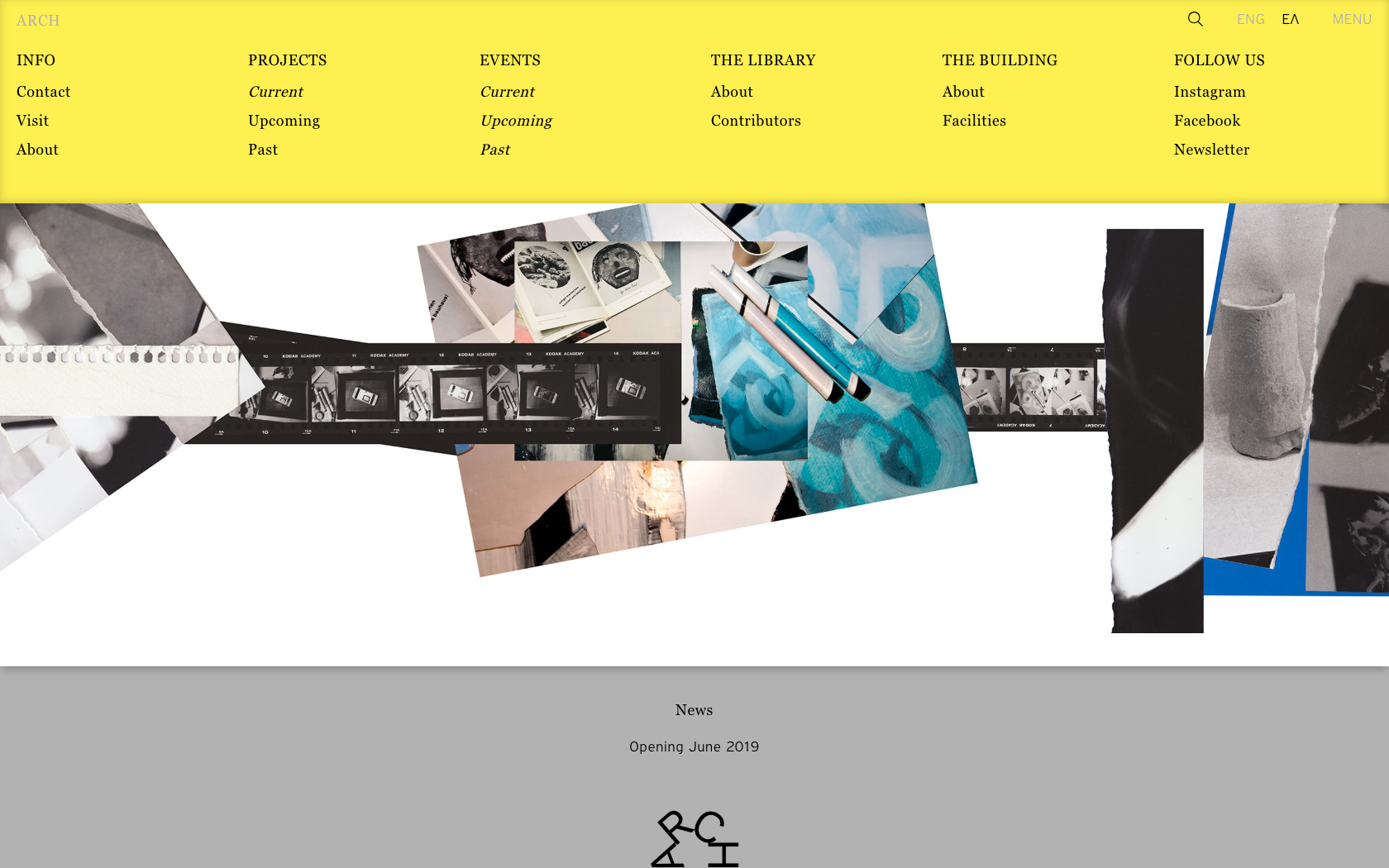 • ARCH – Visual identity + Website 1